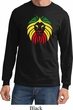 Rasta Lion Head Long Sleeve Shirt