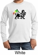 Rasta Lion Kids Shirt Long Sleeve Shirt