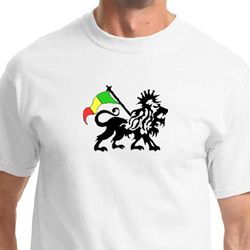 Rasta Lion Mens Shirts