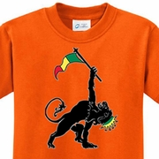 Rasta Triangle Kids Shirts