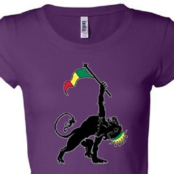 Rasta Triangle Ladies Shirts