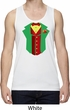 Rasta Vest Tuxedo Moisture Wicking Tank Top