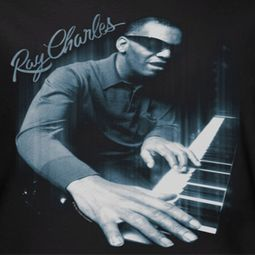 Ray Charles Blue Piano Shirts