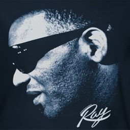 Ray Charles Blue Ray Shirts