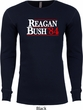 Reagan Bush 1984 Long Sleeve Thermal Shirt