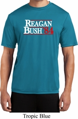 Reagan Bush 1984 Mens Moisture Wicking Shirt