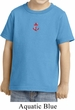 Red Anchor Patch Middle Print Toddler Shirt