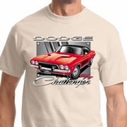 Red Challenger Mens Dodge Shirts