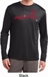 Red Dodge Ram Silhouette Dry Wicking Long Sleeve