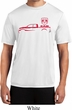 Red Dodge Ram Silhouette Dry Wicking T-shirt