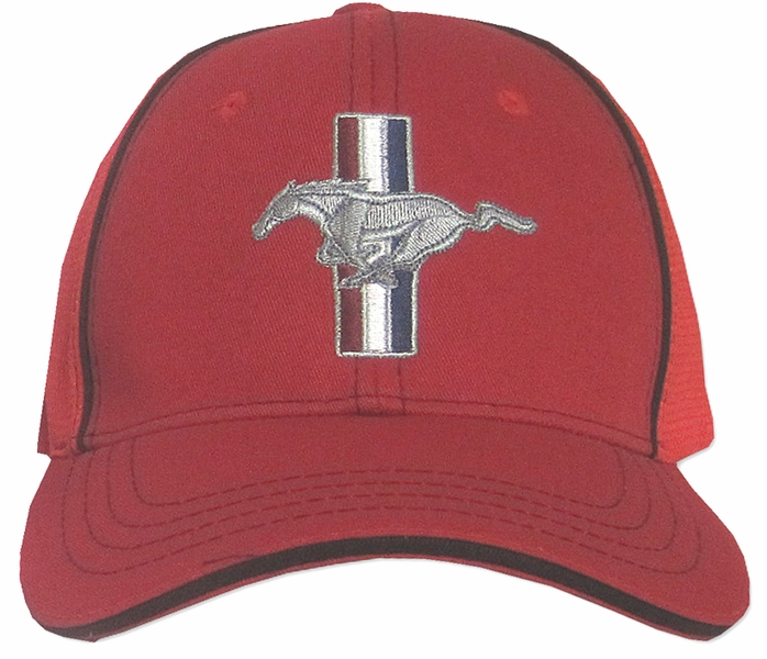 b09a0d5f60c94 Ford Mustang GT Hat - Fitted Flexfit Fine Embroidered Cap - Ford ...