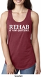 Rehab Is For Quitters Ladies Ideal Tank Top