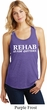 Rehab Is For Quitters Ladies Racerback Tank Top