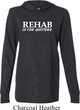 Rehab Is For Quitters Lightweight Hoodie Tee