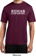 Rehab Is For Quitters Mens Moisture Wicking Shirt