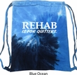 Rehab Is For Quitters Tie Dye Bag