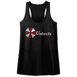 Resident Evil Juniors Tank Top Umbrella Black Racerback