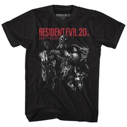 Resident Evil Shirt 20th anniversary Black T-Shirt