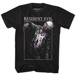 Resident Evil Shirt Bad Zombie Black T-Shirt