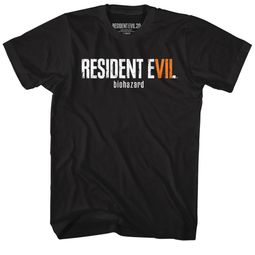 Resident Evil Shirt RE7 Biohazard Black T-Shirt