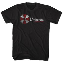 Resident Evil Shirt Umbrella Black T-Shirt