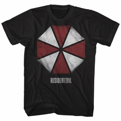 Resident Evil Shirt Umbrella Corporation Black T-Shirt