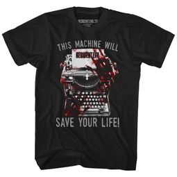 Resident Evil Shirt Will Save Your Life Black T-Shirt