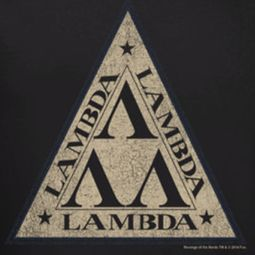 Revenge Of The Nerds Tri Lambda Logo Shirts