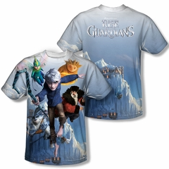 Rise Of The Guardians Together Now Sublimation Kids Shirt Front/Back Print