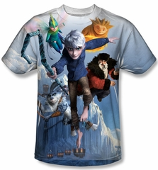 Rise Of The Guardians Together Now Sublimation Shirt