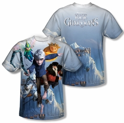 Rise Of The Guardians Together Now Sublimation Shirt Front/Back Print
