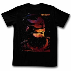Robocop Shirt Space Black T-Shirt