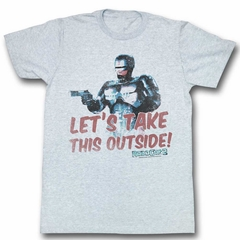 Robocop Shirt Take It Outside Athletic Heather T-Shirt