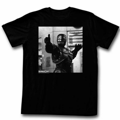 Robocop Shirt Thumbs Up Black T-Shirt