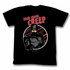 Robocop Shirt Your Move Creep Black T-Shirt