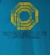 Robocop T-Shirt - Opc Security  Adult Turquoise Tee Shirt