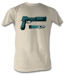 Robocop T-Shirt - The Auto 9 Adult Dirty White Tee Shirt