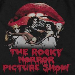 Rocky Horror Picture Show Cast Throne Shirts