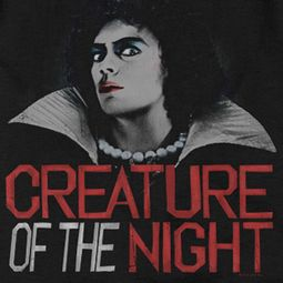 Rocky Horror Picture Show Creature Of The Night Shirts