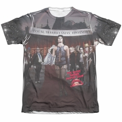 Rocky Horror Picture Show Shirt Annual Conventional Poly/Cotton Sublimation Shirt
