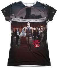 Rocky Horror Picture Show Shirt Annual Conventional Sublimation Juniors Shirt
