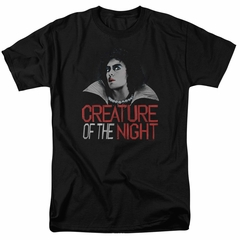 Rocky Horror Picture Show Shirt Creature Of The Night Black T-Shirt