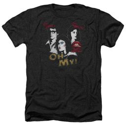 Rocky Horror Picture Show Shirt Oh My Heather Black T-Shirt