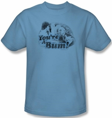 Rocky Kids T-shirt You're A Bum Youth Carolina Blue Tee Shirt
