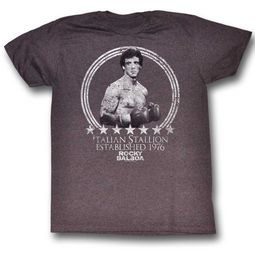 Rocky Shirt EST 1976 Light Brown Heather T-Shirt