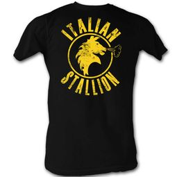 Rocky Shirt The Italian Stallion Black T-Shirt