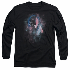 Roger Waters Long Sleeve Shirt The Wall Face Paint Black Tee T-Shirt