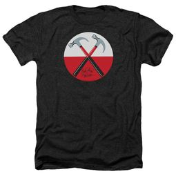 Roger Waters Shirt The Wall Hammers Heather Black T-Shirt