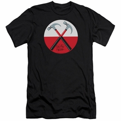 Roger Waters Slim Fit Shirt The Wall Hammers Black T-Shirt