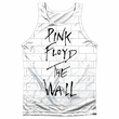 Roger Waters Tank Top The Wall Sublimation Tanktop Front/Back Print
